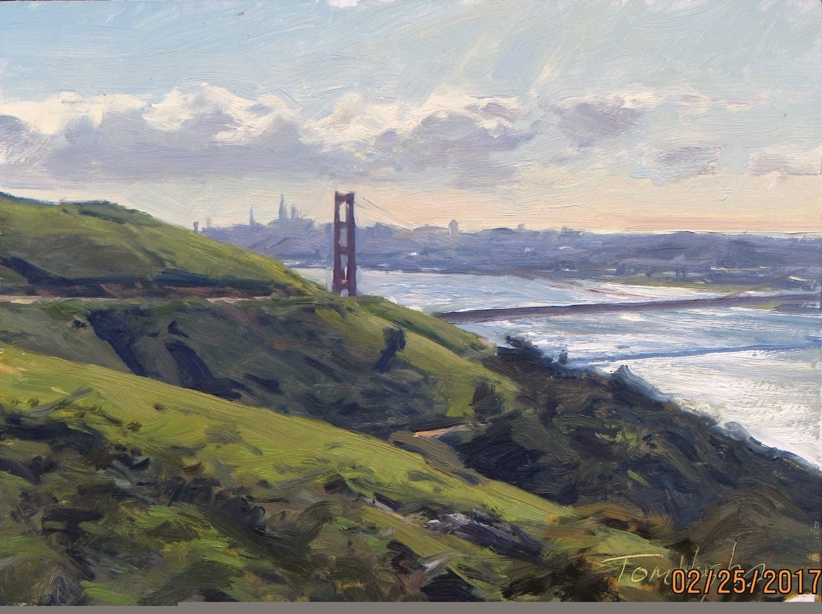 Golden Gate, Morning (large view)