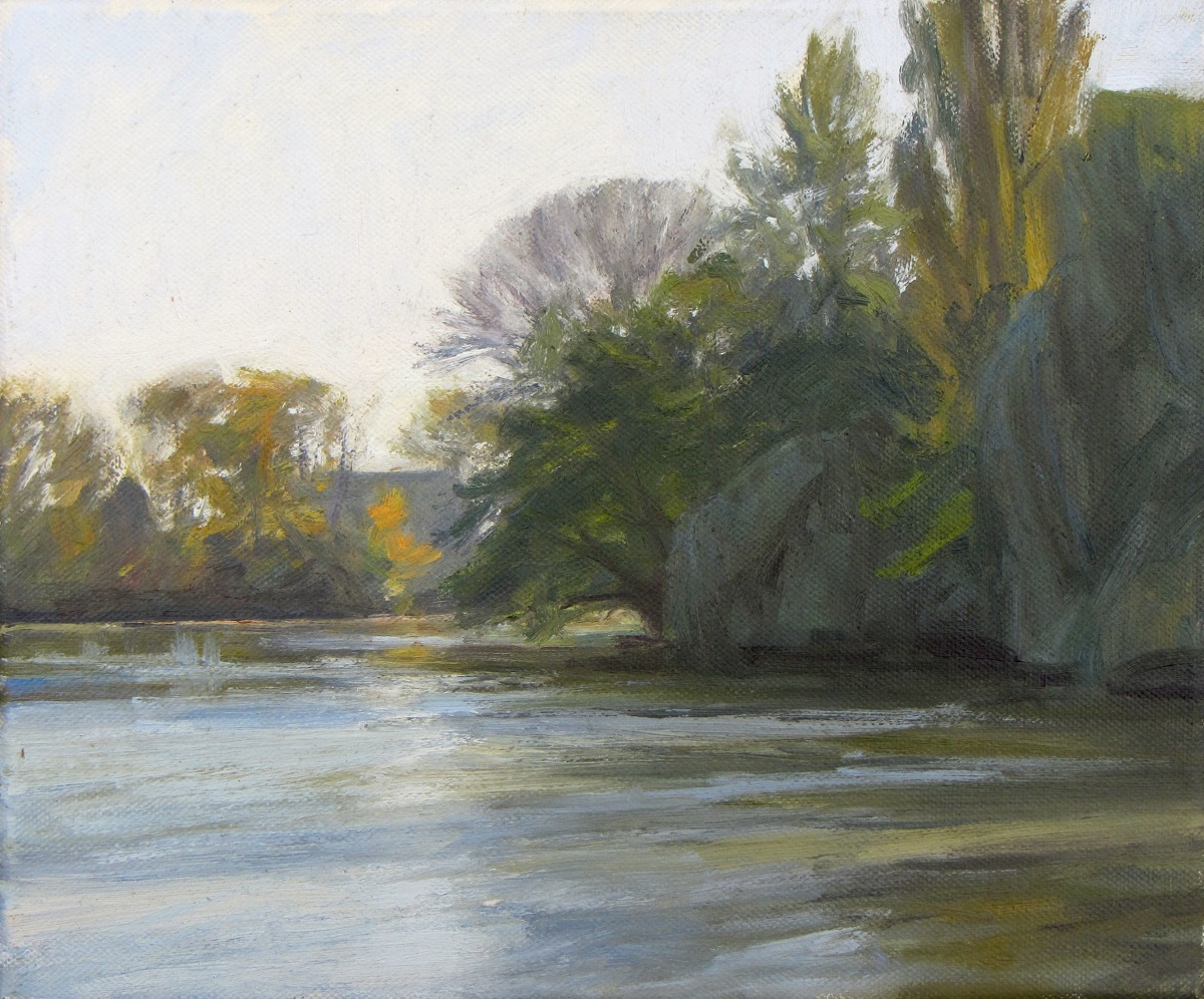 Willows, Loir River (large view)