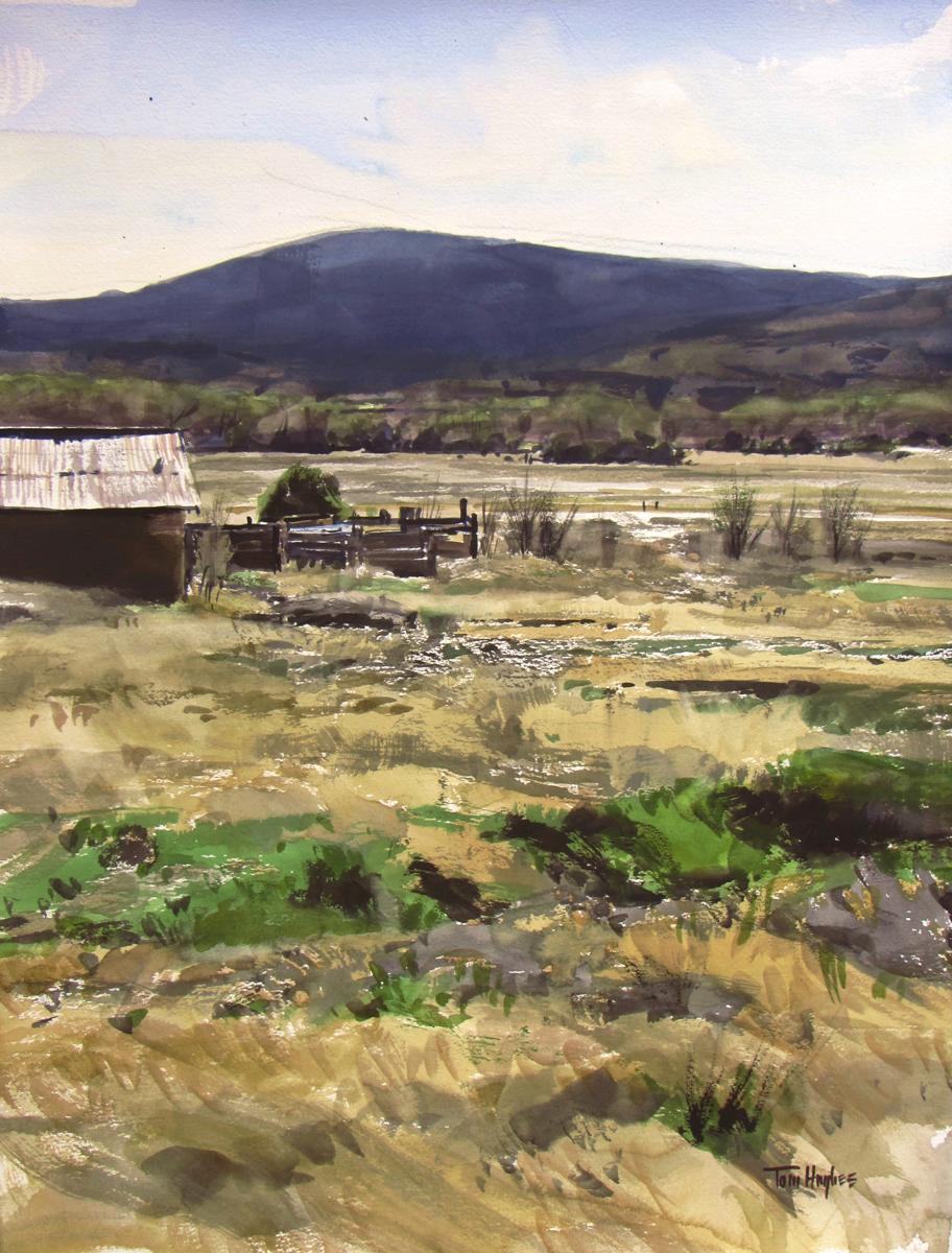 Pecos Landscape (large view)