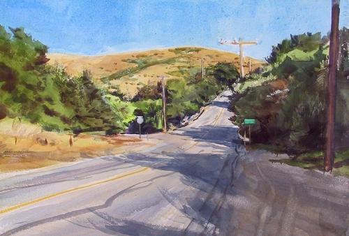 California road (large view)