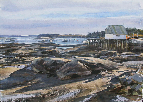 Low tide, Stonington, ME