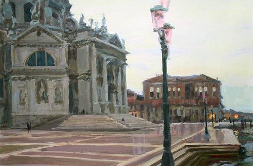 Venice rain (large view)