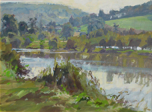 Varenne River, Normandy (large view)