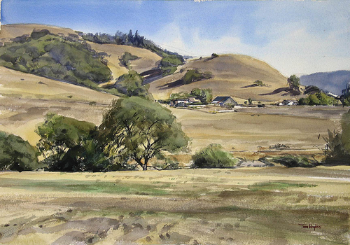 California hills (large view)