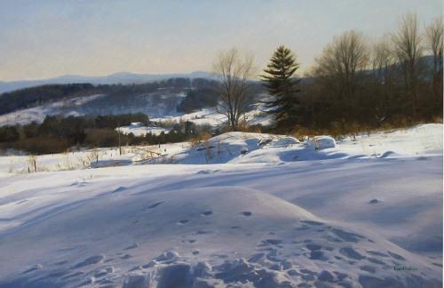 Winter landscape (large view)