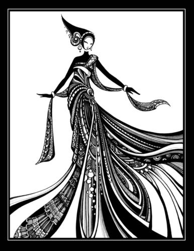 Kiera Print by Tienne Rei Fine Art