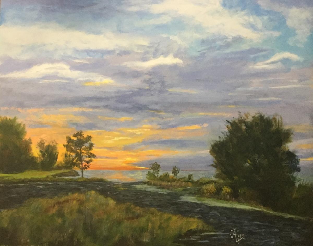 Sunset/Snake Swamp @ Lake Ontario (large view)