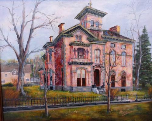 Richardson-Bates House/Museum by TimAmesArt.com