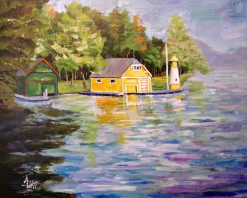 Yellow Boathouse #2