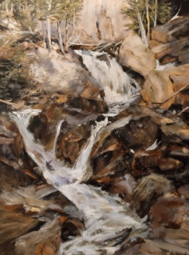 Mountain Stream after R. Schmid