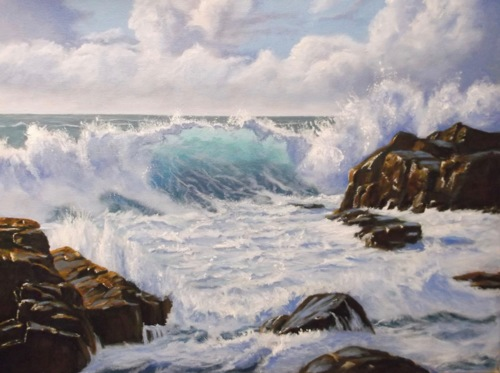 Seascape #1 by TimAmesArt.com