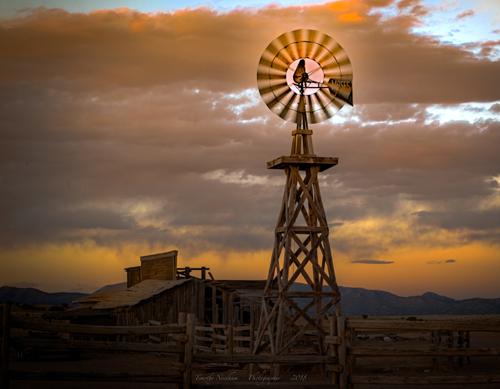 Spinning Windmill Santa Fe
