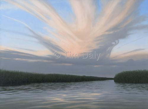 Kayak View, Clouds of Mosquitos