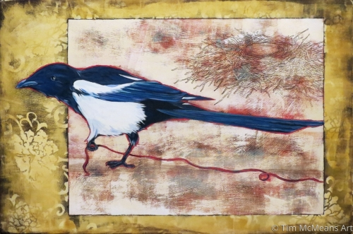 Uncommon Thread (sold) by Tim McMeans Art