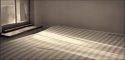 mattress, bed, bedroom, sunlight, sunrise, window, sunbeam -  Photography