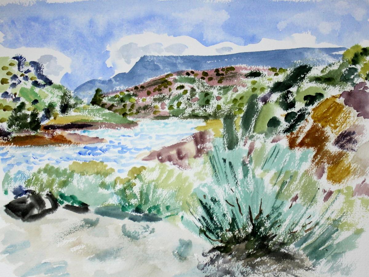Rio Grande, New Mexico (large view)