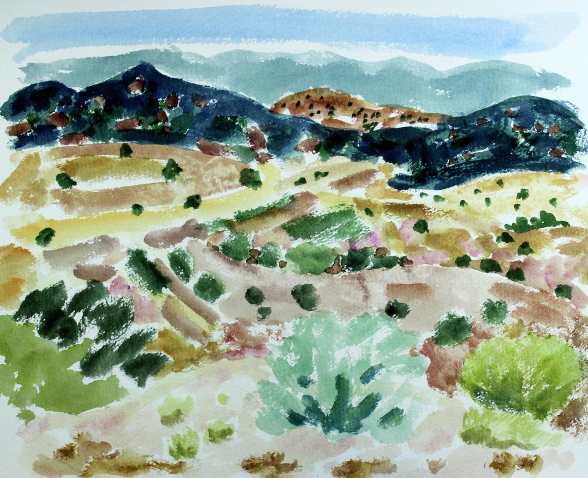 Landscape Near Taos (large view)