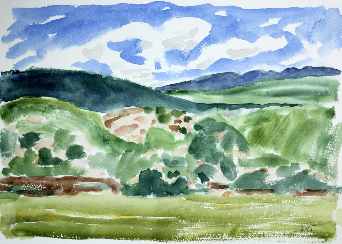 Landscape Near Santa Fe N.M. (large view)