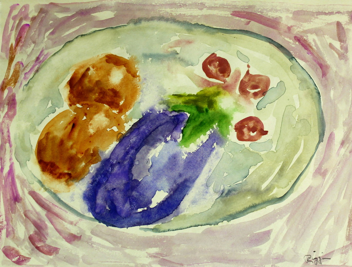 Still Life with Eggplant  (large view)