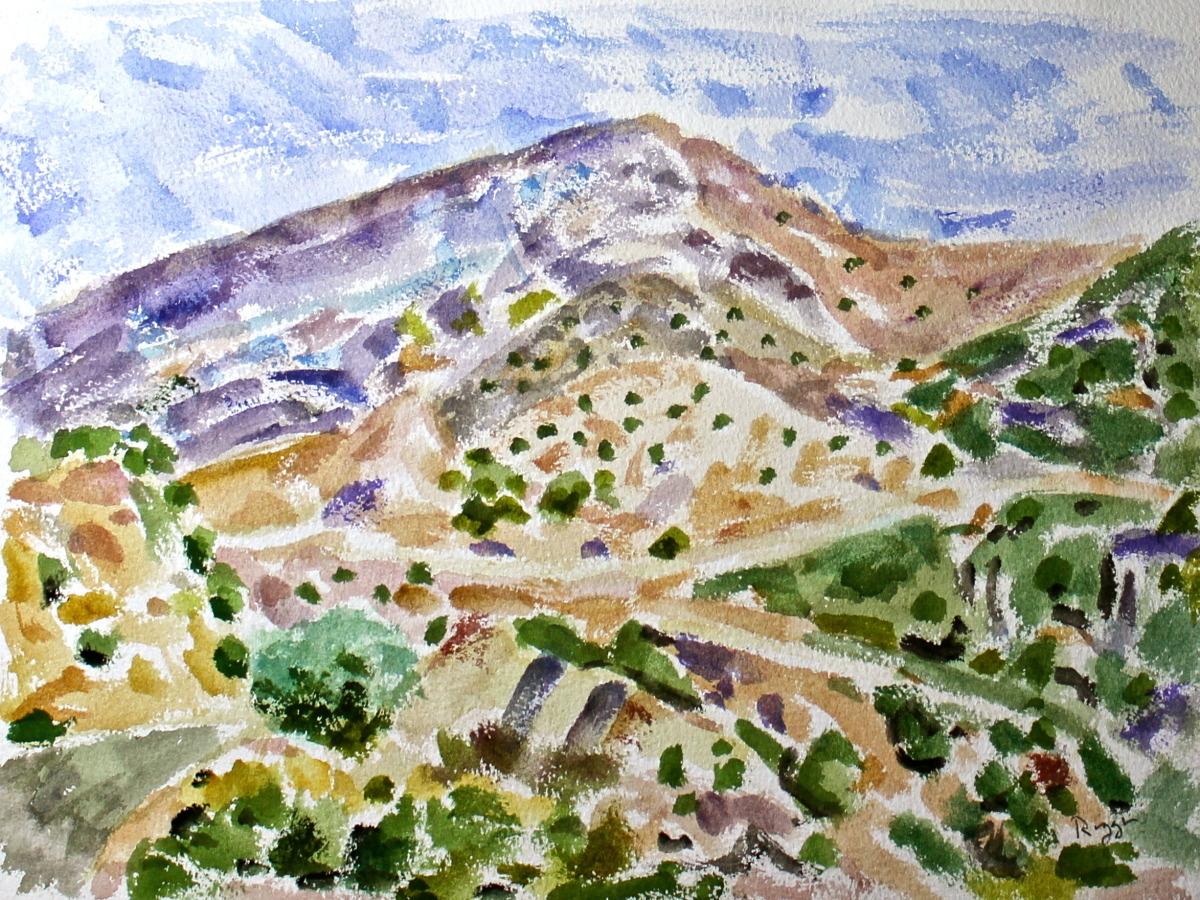 Taos Landscape #7 (large view)