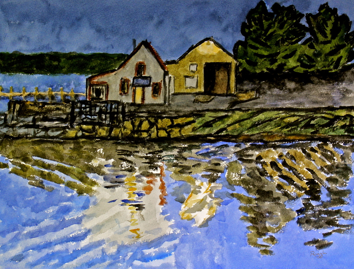 First Light, Stonington, Maine (large view)