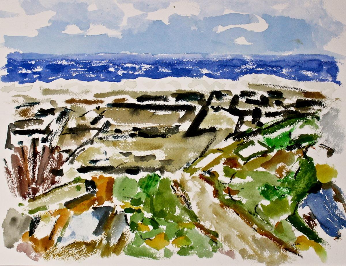 Cape Elizabeth, The Sea (Series 3) (large view)
