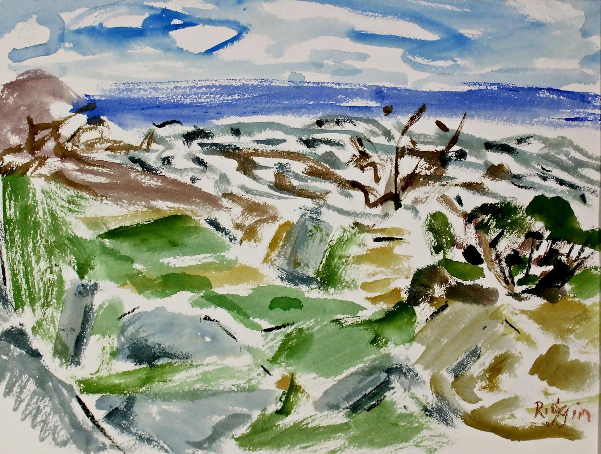 Cape Elizabeth, The Sea (Series 4) (large view)
