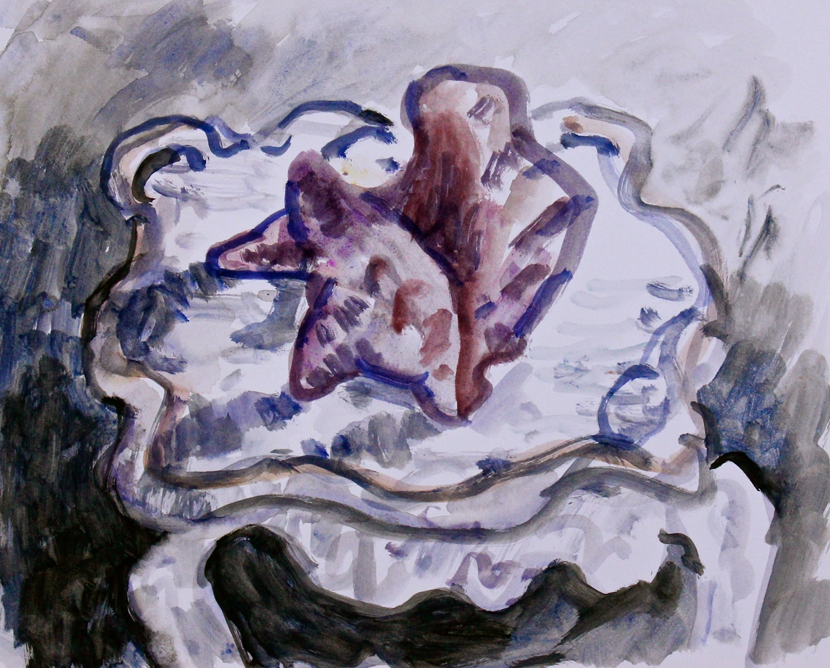 Conch on White Table (large view)