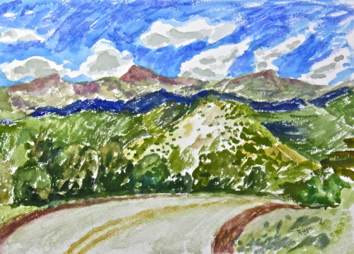 The Road to Taos #9