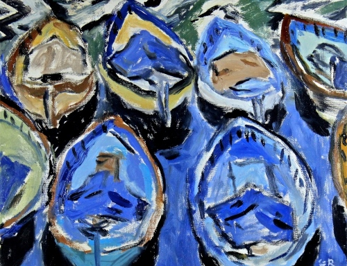 Blue Boats (large view)