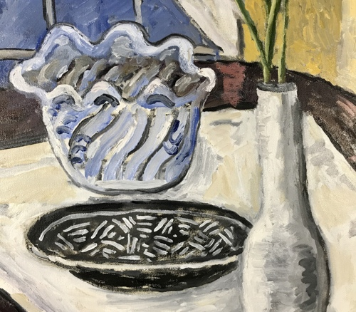Still Life With African Plate