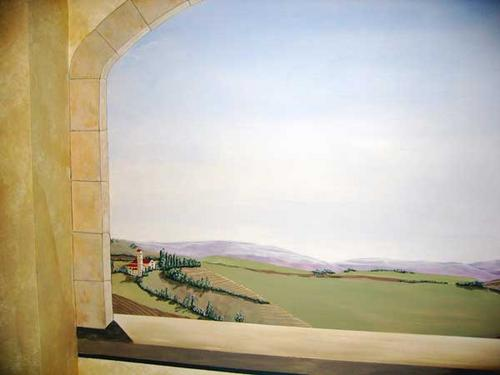 Tuscany (center panel) (large view)