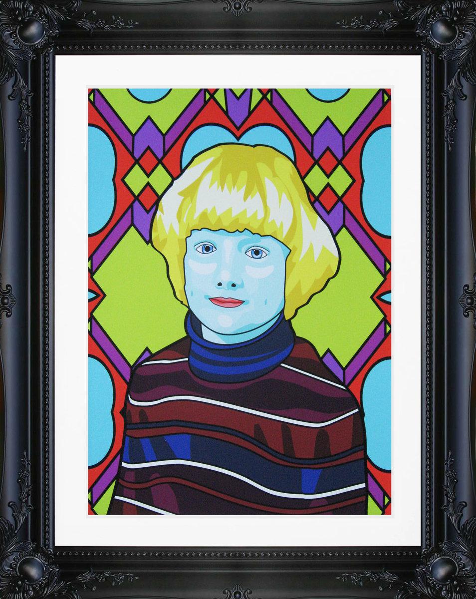 Custom Pop Art Portrait (large view)