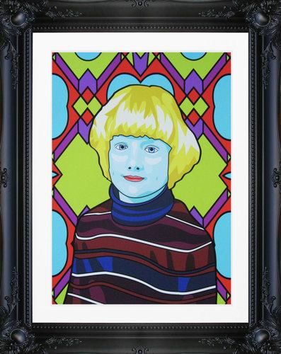 Custom Pop Art Portrait by Grande Dame