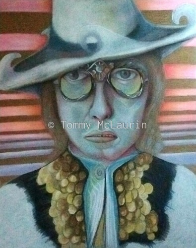 A likeness of Sir Elton