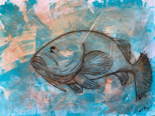 Goliath Grouper, No.3