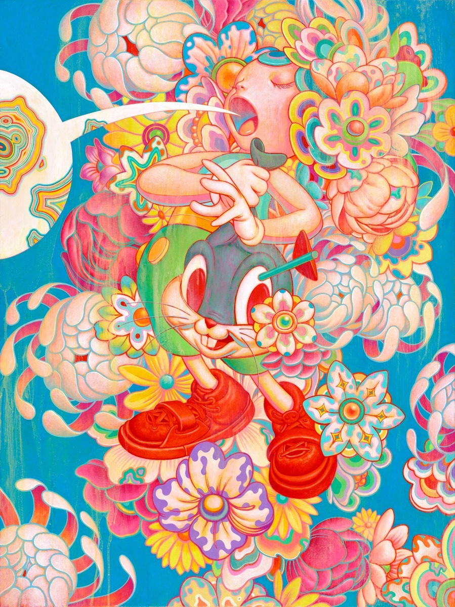 James Jean - Bouquet - New Superflat