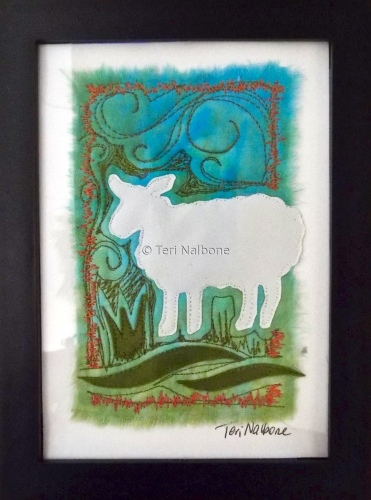 white sheep - mini
