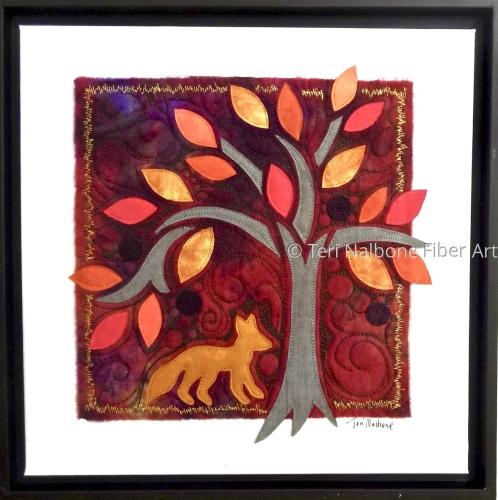fox and tree