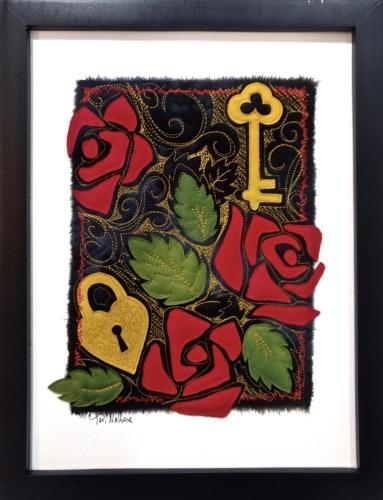 Roses, Lock and key