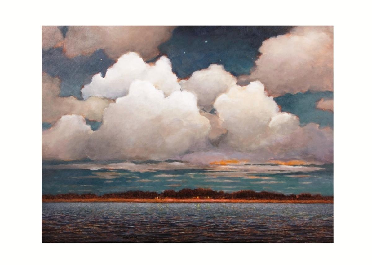 Dusk Over Penobscot Bay II (large view)