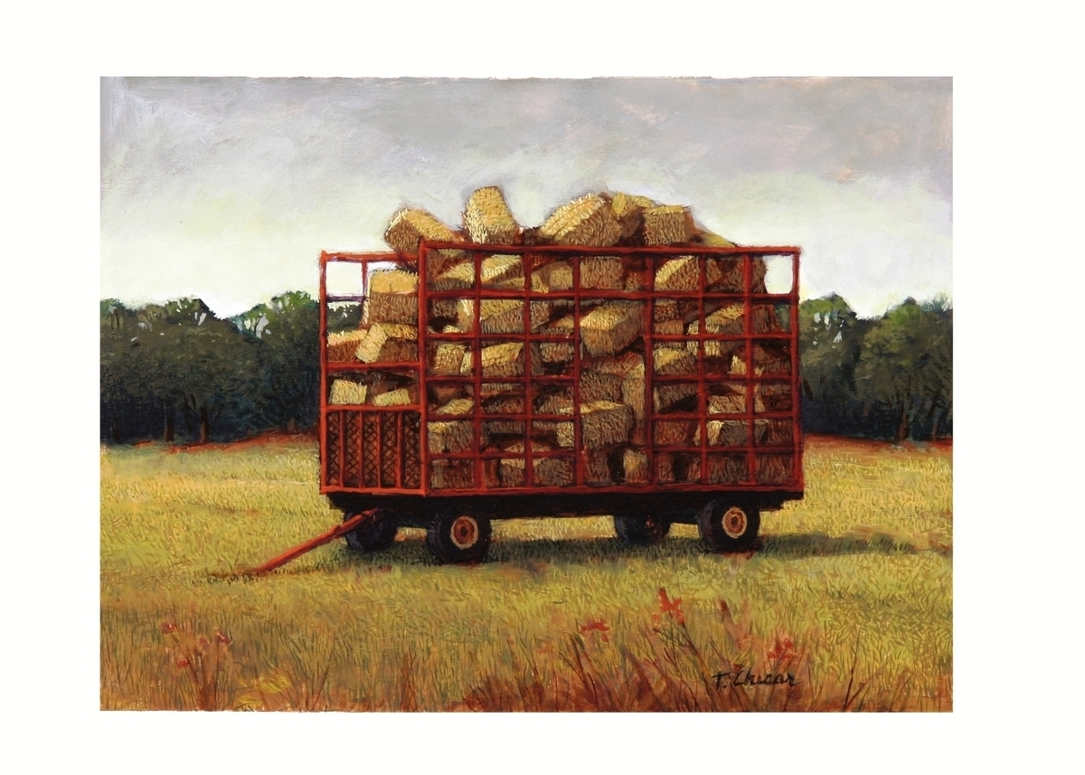 Hay Wagon (large view)