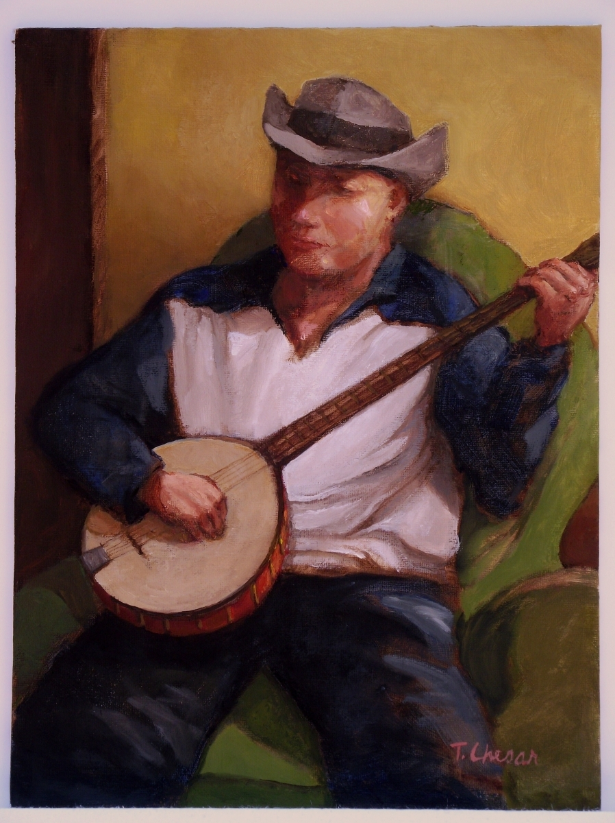 Banjo Player (large view)