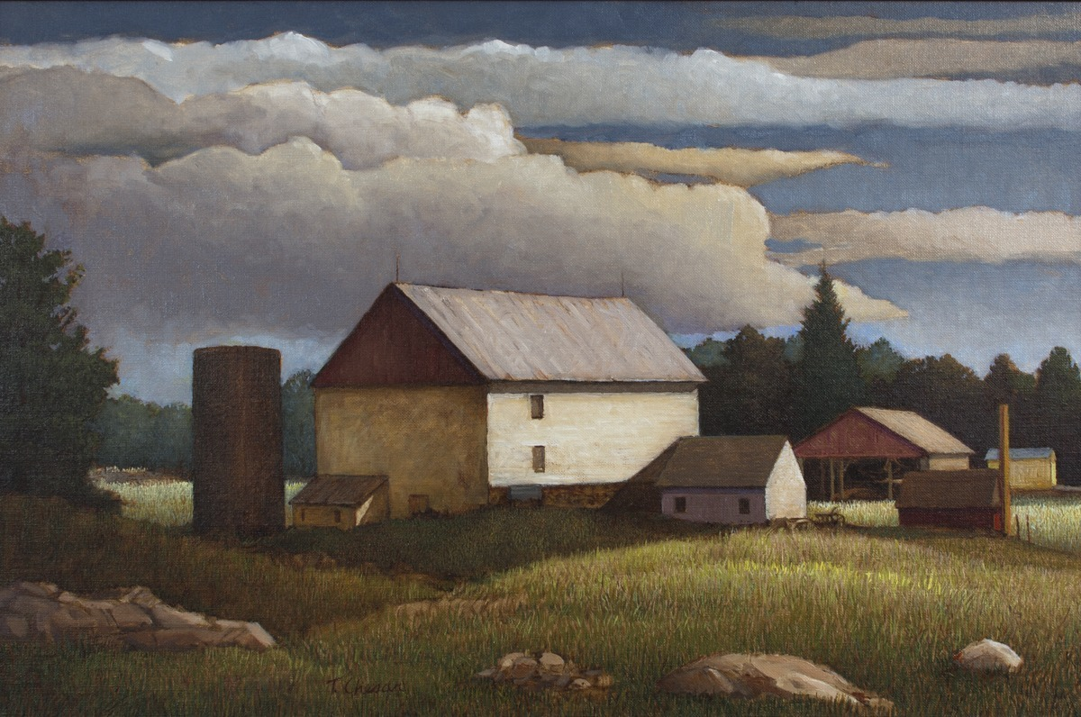 Sergeantsville Farm by Tom Chesar (large view)