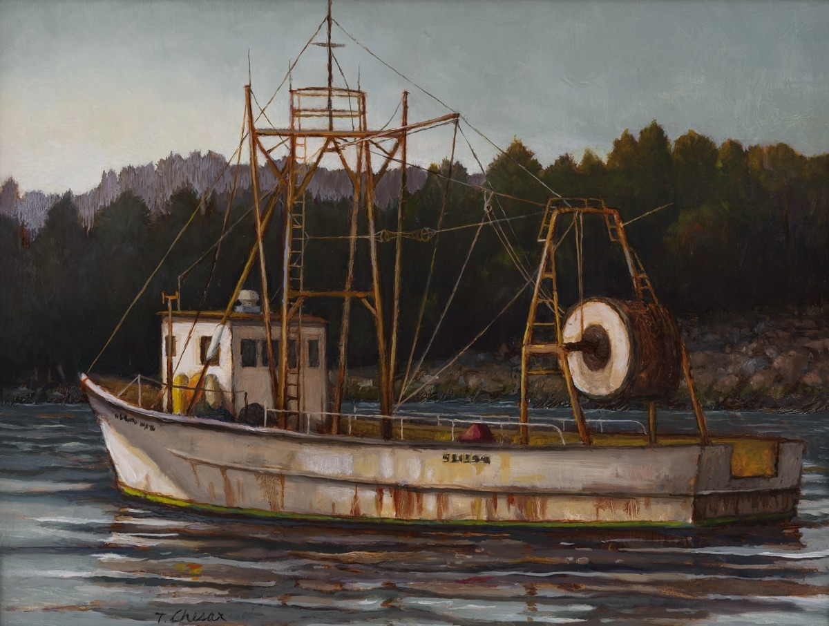 The Trawler by Tom Chesar (large view)