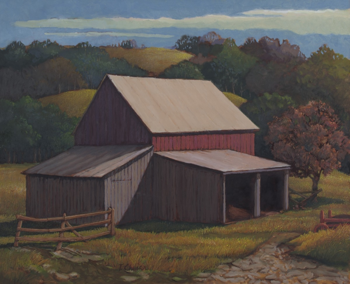 Barn in the Hills (large view)