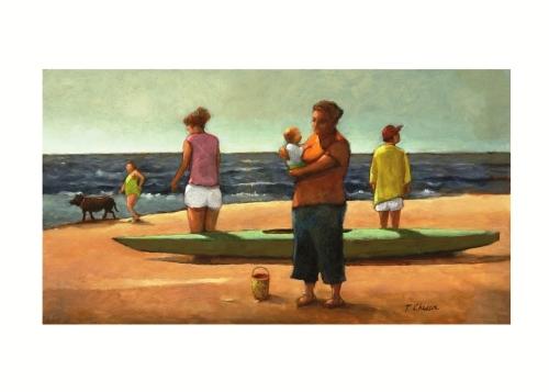 The Beach by Tom Chesar