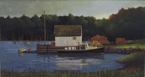 Lobster Shack by Tom Chesar