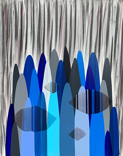 POEMES LXXXI - ANOTHER NEVER BEFORE SEEN SKY IN EARLY MORNING