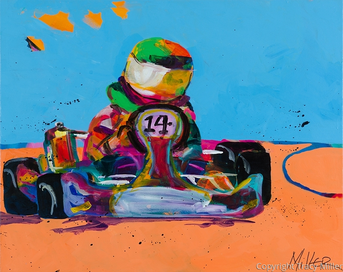Go Kart Racer (large view)